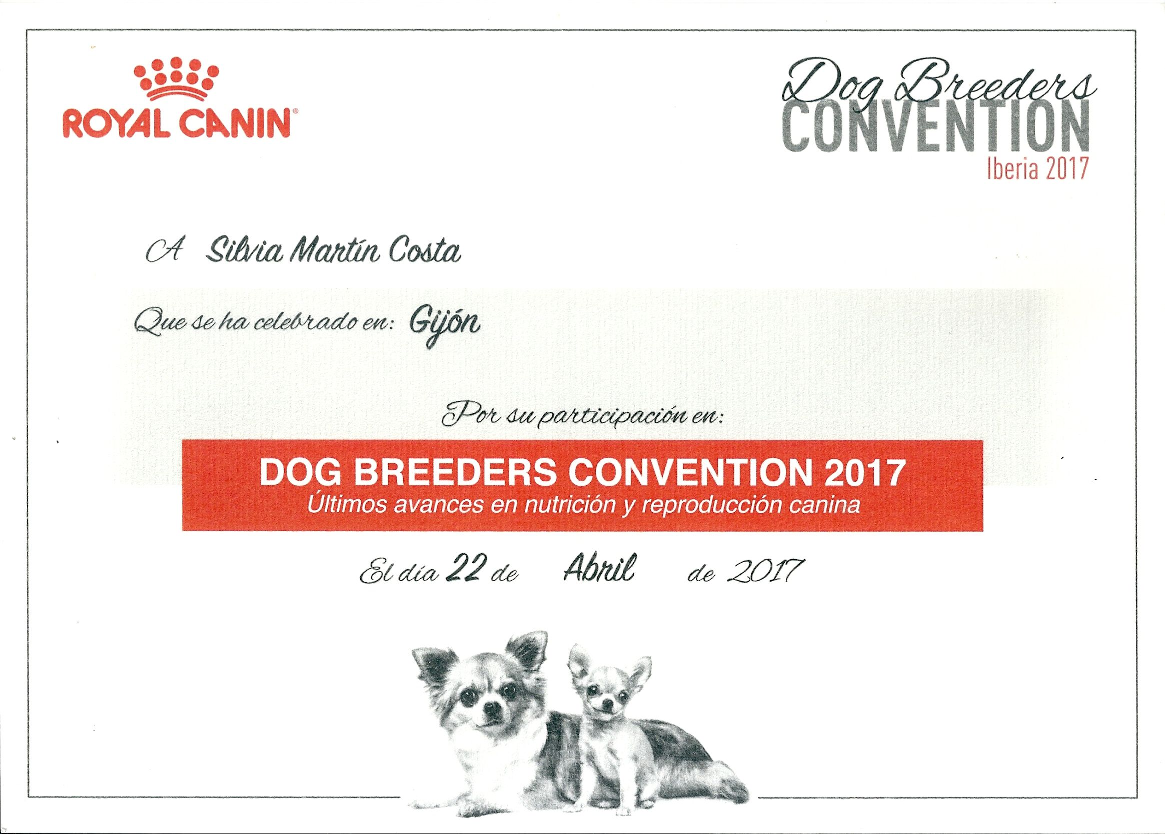 Dogs Breeder Convention
